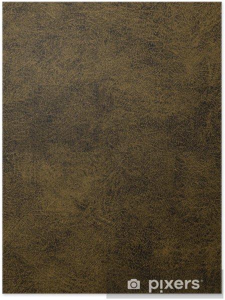Poster Texture de cuir transparente - Textures