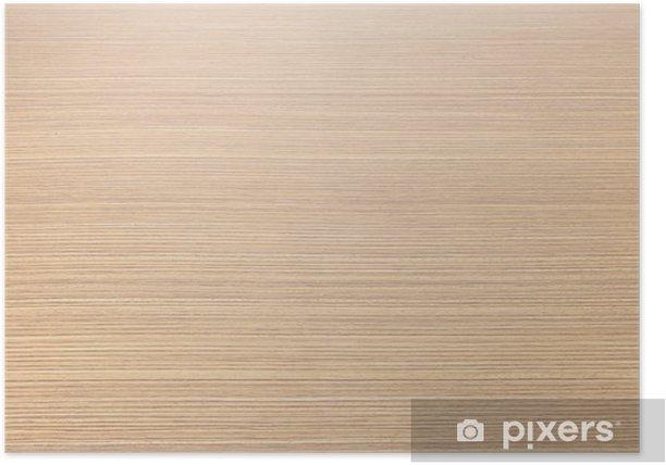 Poster Textuur legno - houtstructuur - Achtergrond