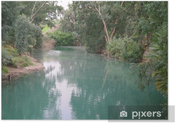 The Jordan River. Israel Poster - Themes