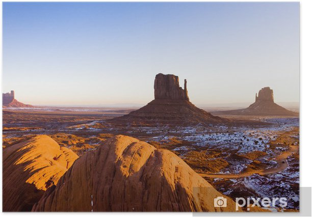The Mittens Monument Valley National Park Utah Arizona Usa Poster Pixers We Live To Change