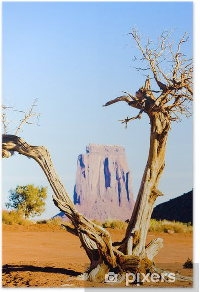 The North Window, Monument Valley NP,Utah-Arizona, USA Poster - America