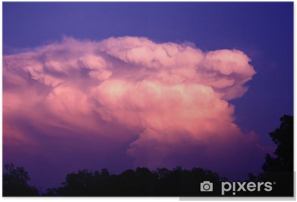 Poster Thunderhead - Hemel