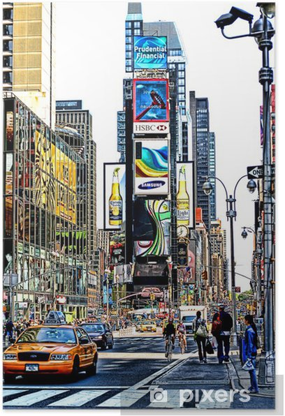 Times Square Poster - Criteo