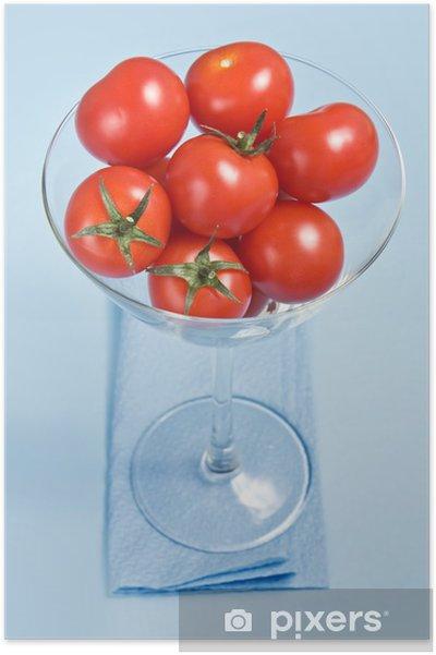 Poster Tomates cerises en verre - Thèmes