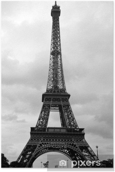 Póster Torre Eiffel en París, Francia - Temas