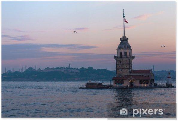 Póster Torres Maiden en Estambul, Turquía - Faro