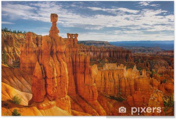 Poster Tors hammare, Bryce Canyon - Amerika