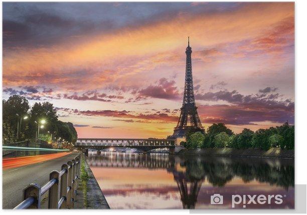 Poster Tour Eiffel Paris - Thèmes