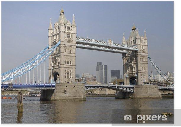 Poster Tower Bridge et la City de Londres - Thèmes