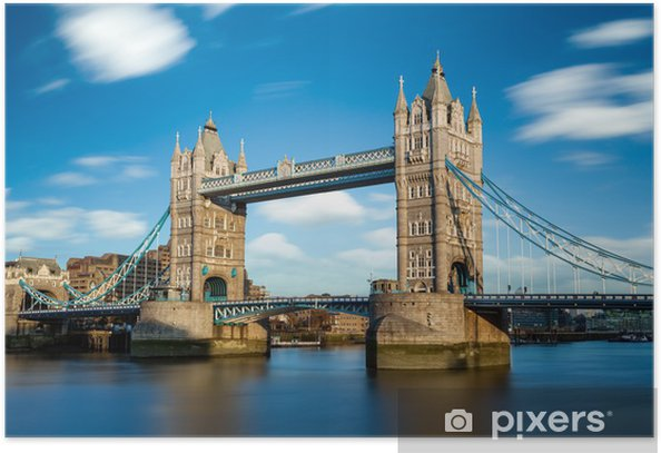 Tower Bridge Londres Angleterre Poster - Themes