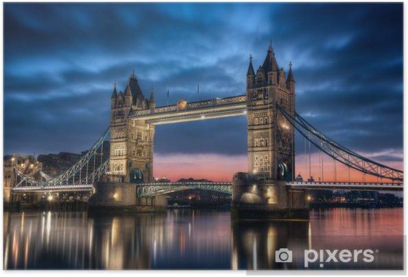 Poster Tower Bridge Londres Angleterre -