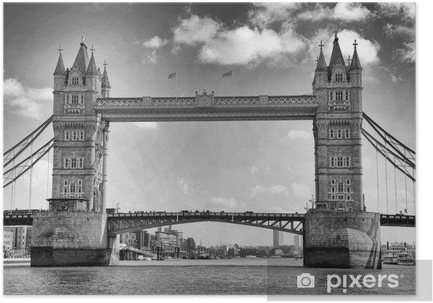 Poster Tower Bridge, Londres, Royaume-Uni - Thèmes