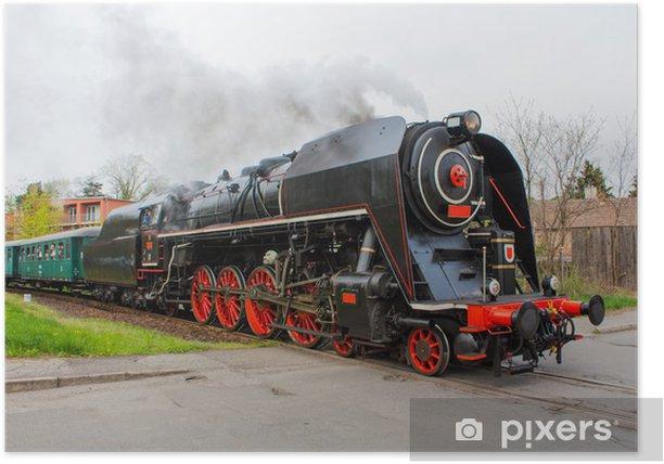 Poster Train a vapeur - Thèmes