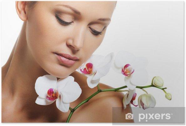 Poster Traitement de la peau pour la femme adulte beauté - Destin
