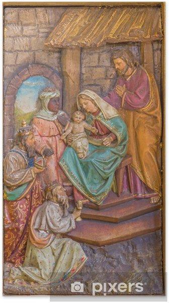 Poster Trnava - L'Adoration des Mages sculpté relief - Thèmes