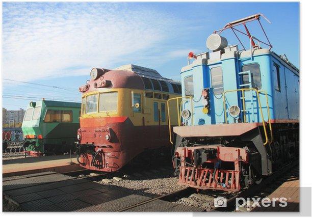 Poster Trois trains - Thèmes