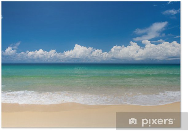 Tropical beach paradise Poster - Holidays