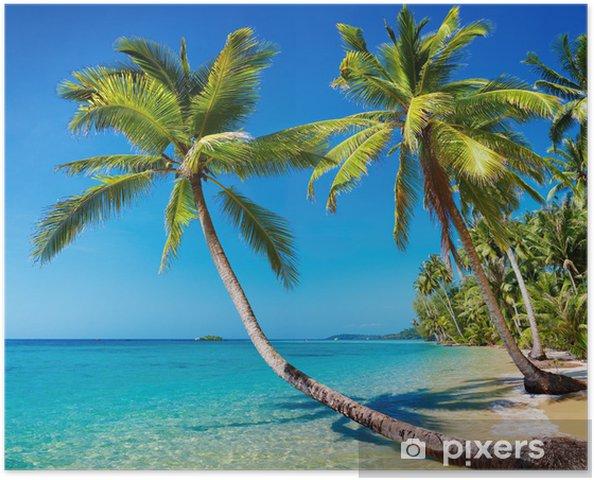 Poster Tropical beach, Thailand. - Thèmes