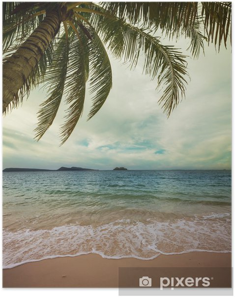 Tropical beach Poster - Holidays