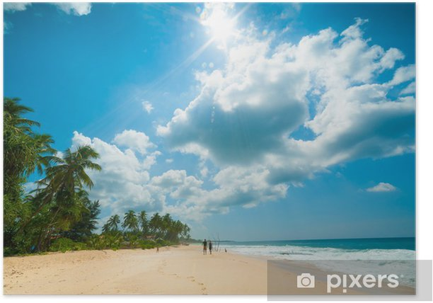 Tropical beach Poster - Water