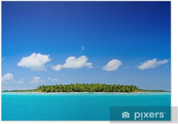 tropical sea Poster - Islands
