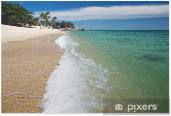 Poster Tropical sea - Eau