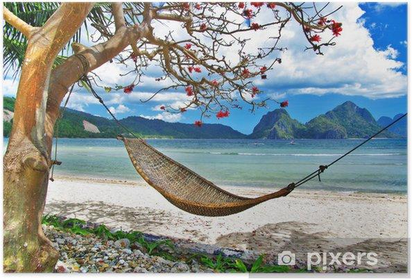 Poster Tropische relax - Thema's