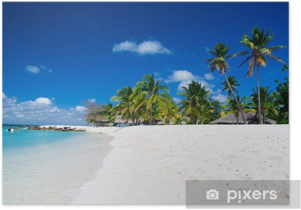 Poster Tropische zee - Water