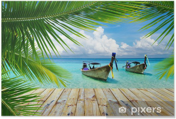 Poster Tropische zee - Thema's