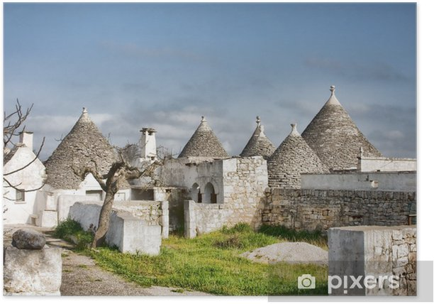 Poster Trulli - Monuments