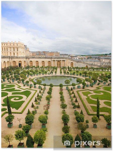 Poster Tuin Van Versailles Frankrijk Pixers We Leven Om Te
