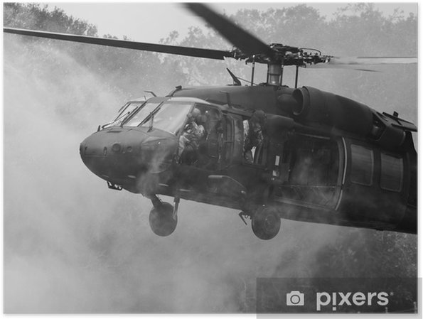 Poster UH-60 Blackhawk helikopter - Thema's
