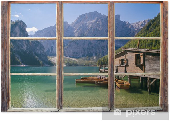 Poster Uitzicht vanuit het raam - Thema's