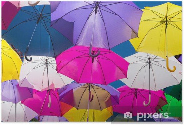 Póster Umbrellas - Fondos