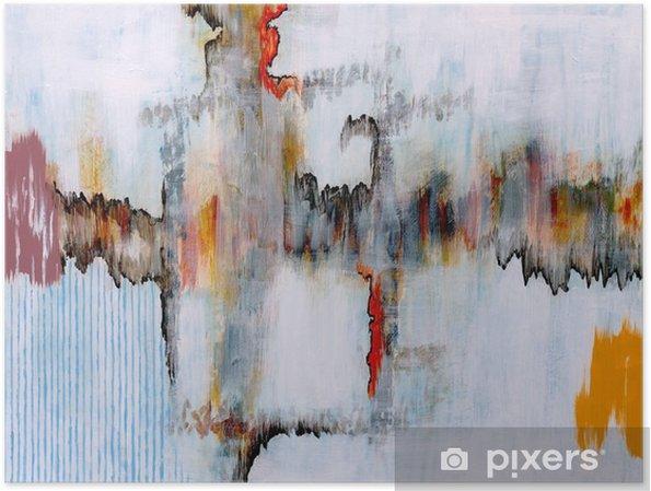 Póster Una pintura abstracta - Tecnología
