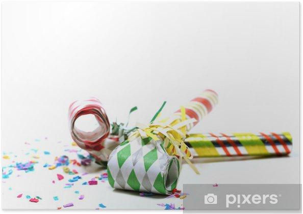 Poster Une flûte de fête - Autres objets