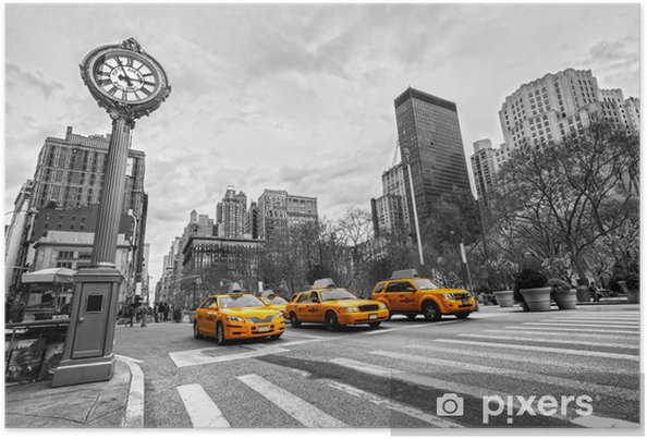Poster Unis New York City -