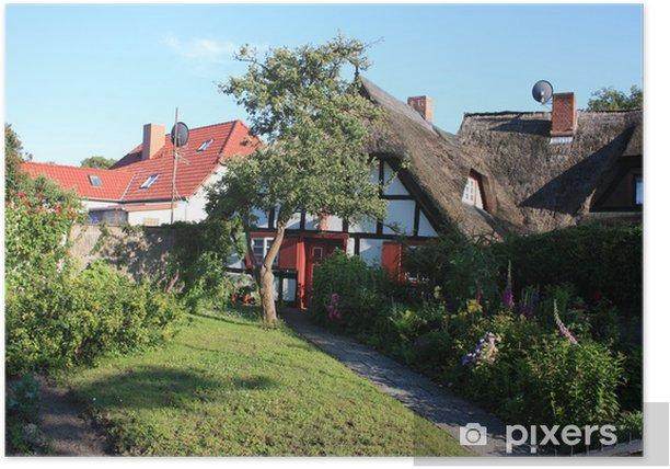 Poster Uriges Fachwerkhaus à Wustrow - Eau