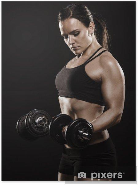 träning med hantlar för kvinnor