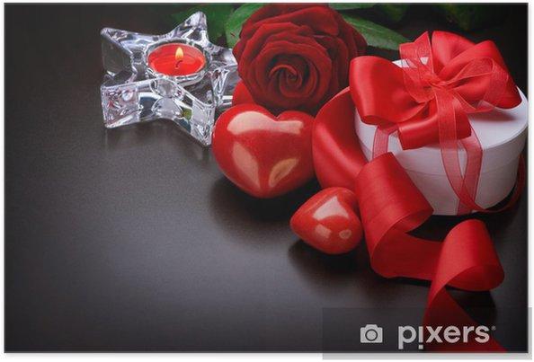 Poster Valentine Card Design - Fêtes internationales