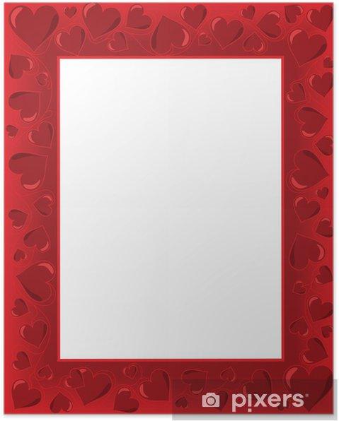 Poster Valentines cartes - Fêtes internationales