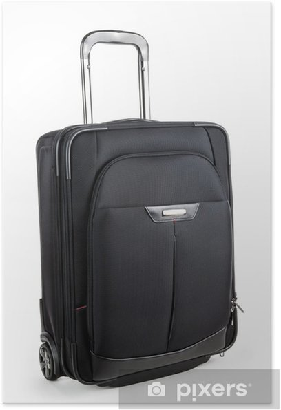 Poster Valise Trolley - Vacances