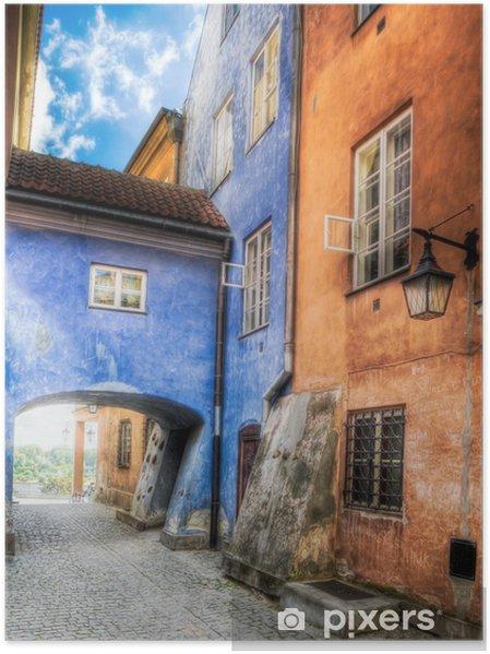 Poster Varsovie - Vieille ville - Thèmes