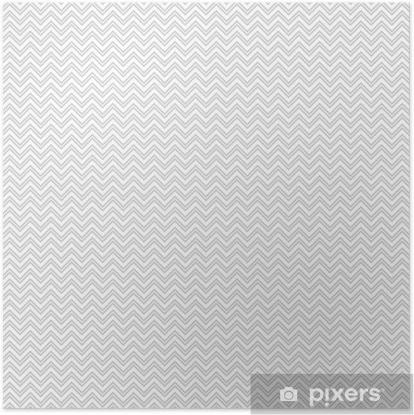 Póster Vector gris patrón transparente (mosaico). Textura sin fin ...
