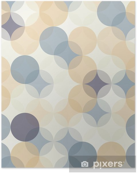 Vector Modern Seamless Colorful Geometry Pattern Circles Color Abstract Geometric Backgroundwallpaper Print Retro Texture Hipster Fashion Design