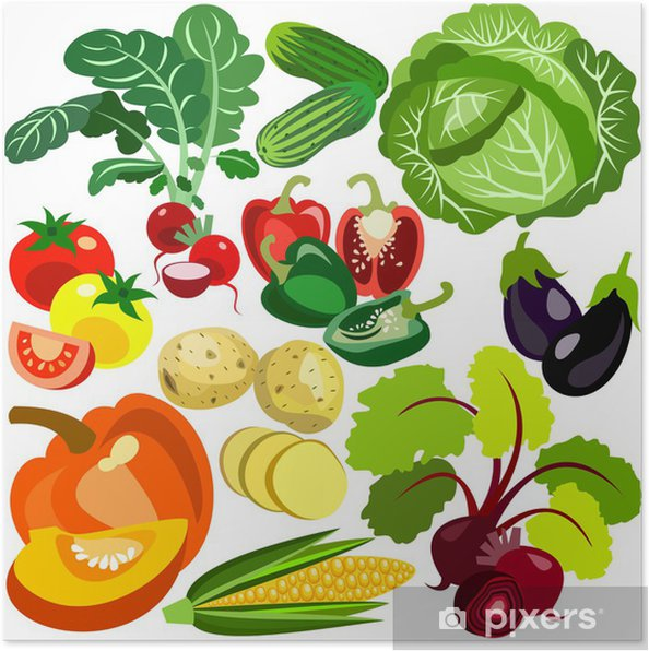 Poster Vegetables - Destin
