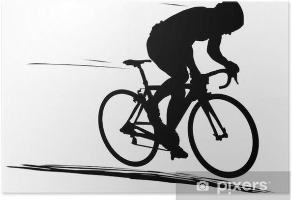 Vélo de route Poster - Individual Sports