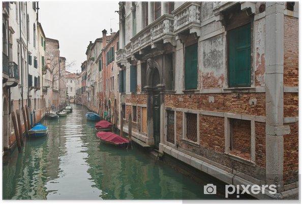 Poster Venise 1302 - Villes européennes