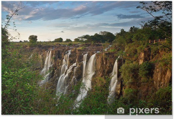 Victoria Falls, Zambia Poster - Themes