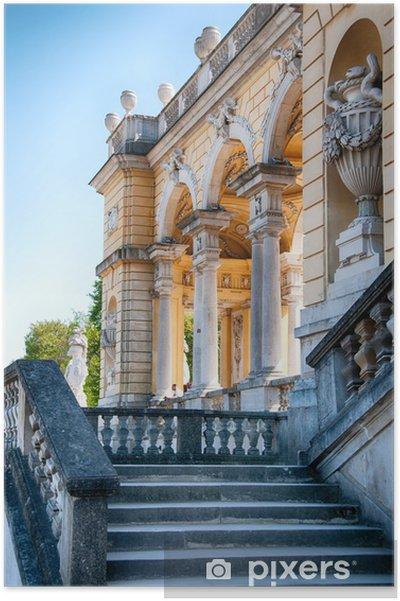 Poster Vienne - Château de Schönbrunn | Gloriette - Villes européennes